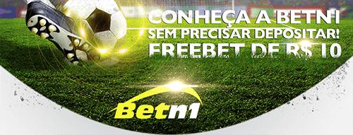 Ganhe 10 reais sem depósito com a BetN1