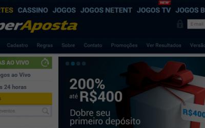 Ganhe 15 reais sem depósito na SuperAposta